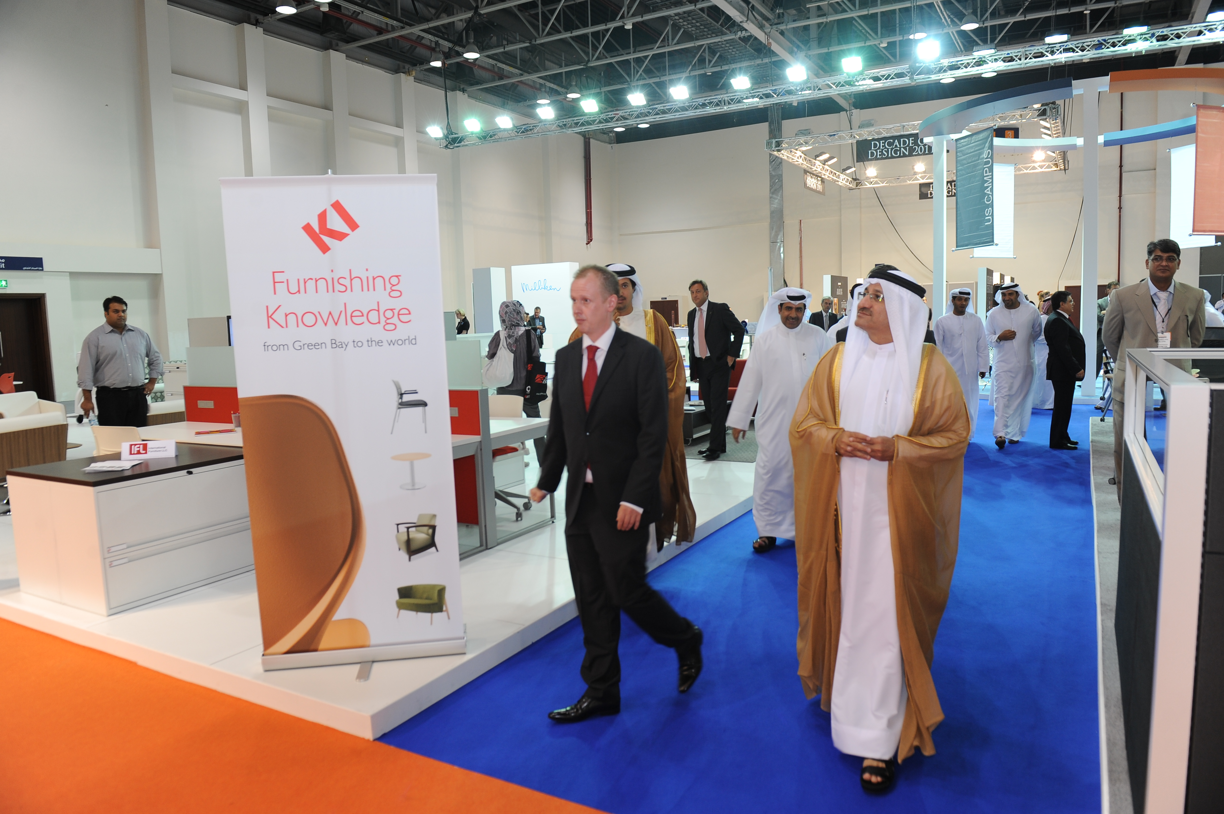The Us Campus At Dubai Office Exhibition Opens