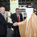 H.E. Humaid Mohamed Obaid Al Qutami Opens The Office Exhibition 2012