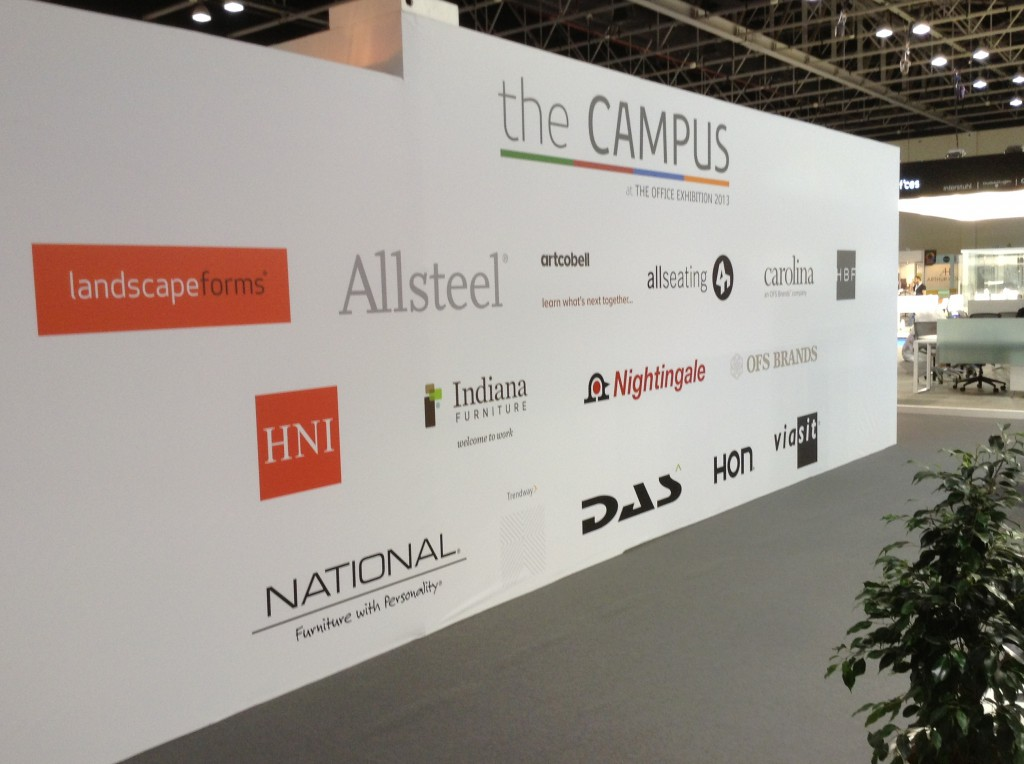 The Campus at the Dubai Office Exhibition 2013