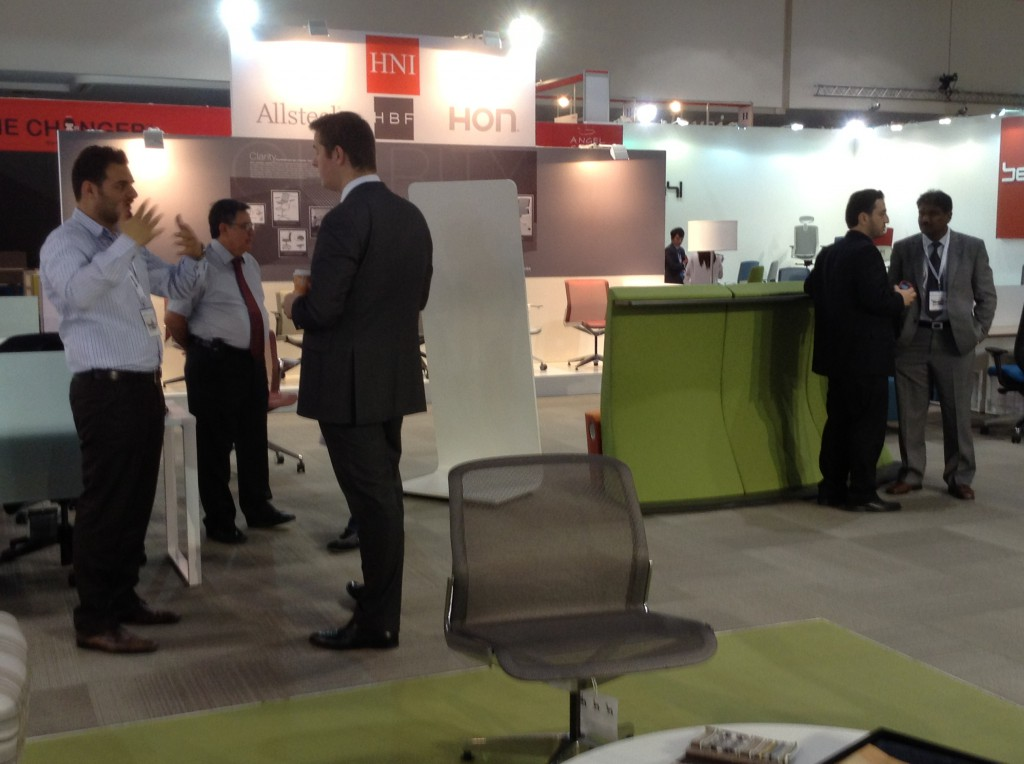 HNI stand at the Campus - Dubai 2013