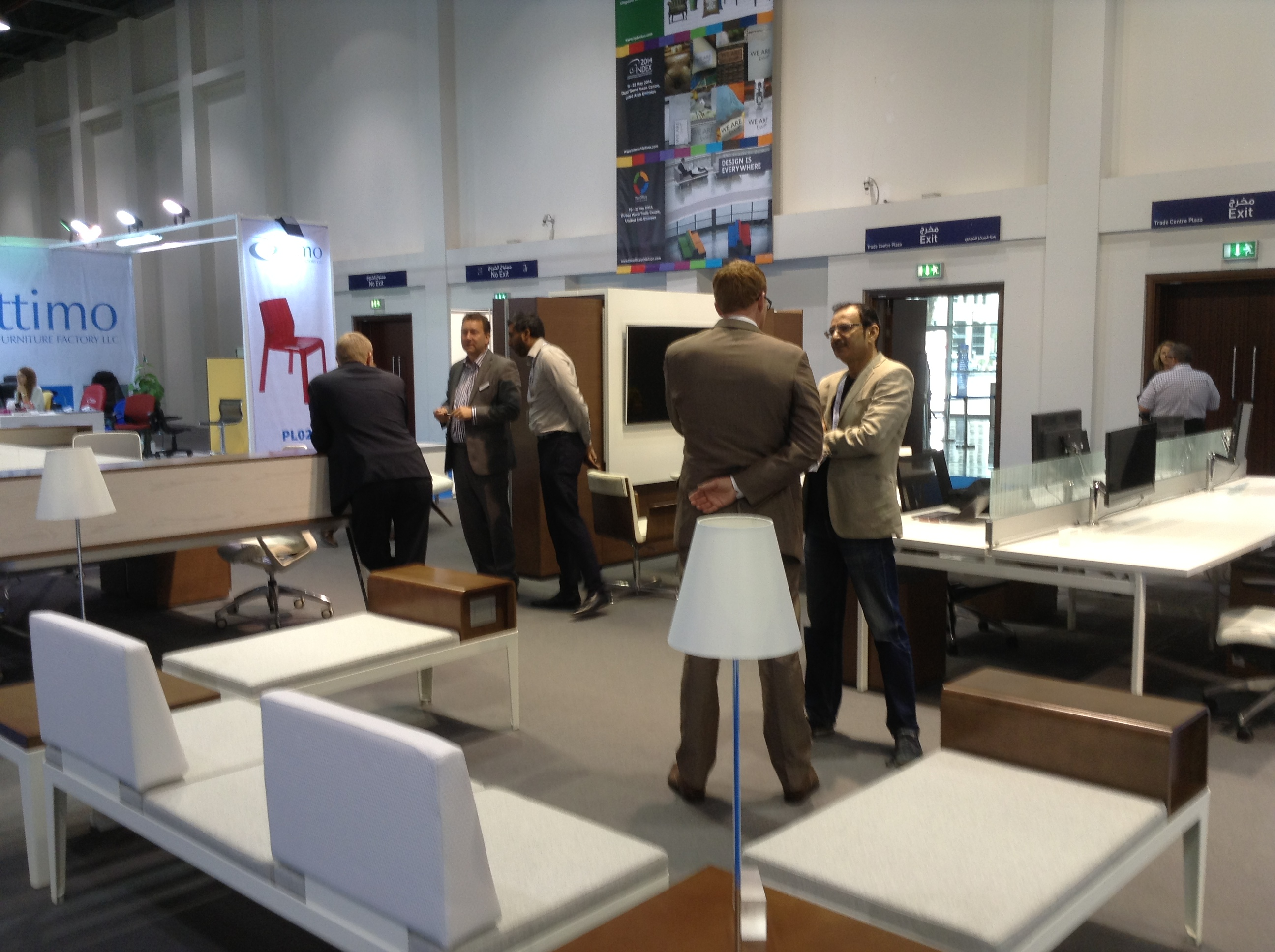 of the Campus at the fice Exhibition Index Dubai 2013