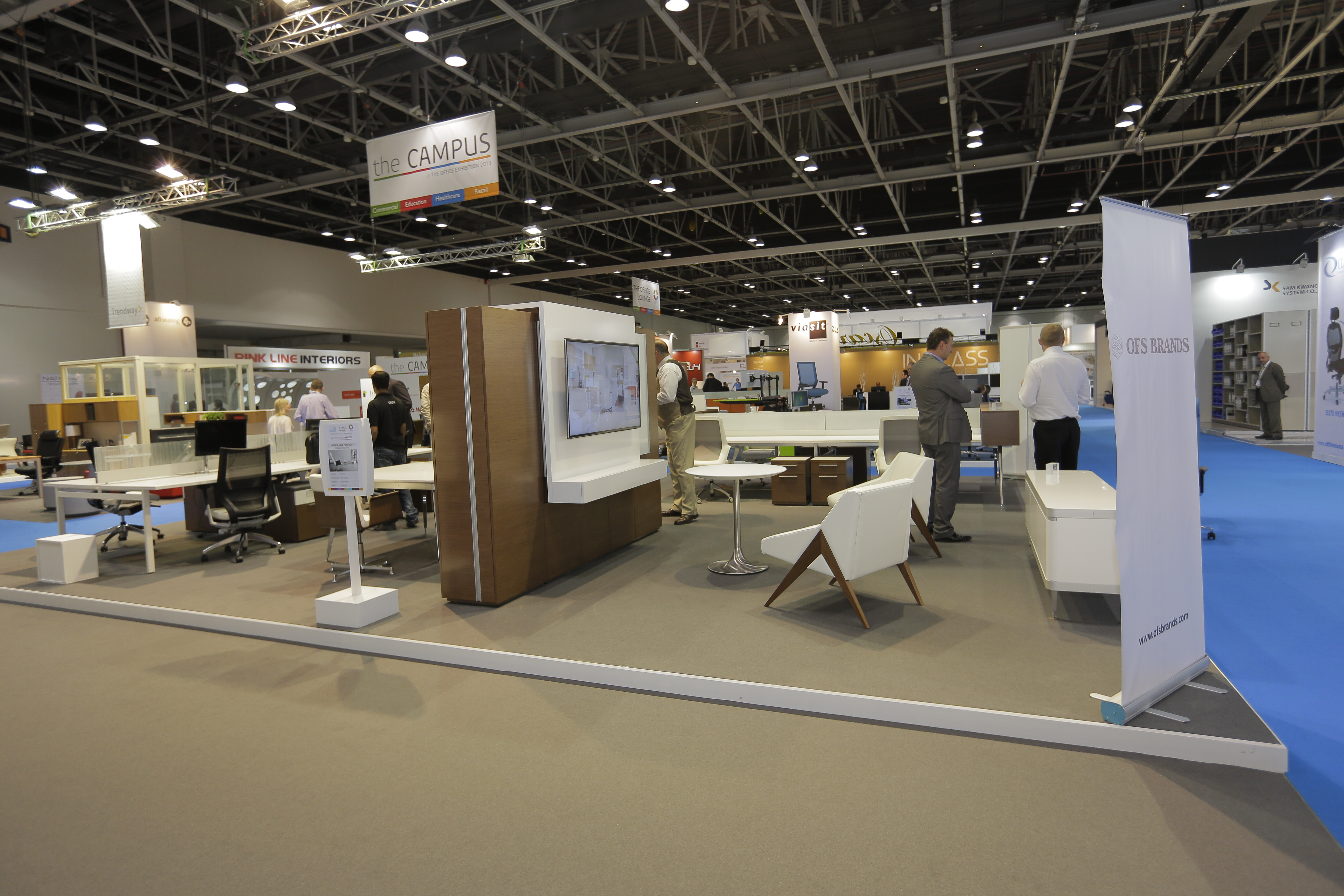 Office exhibition post show update independent freight for Office design exhibitions